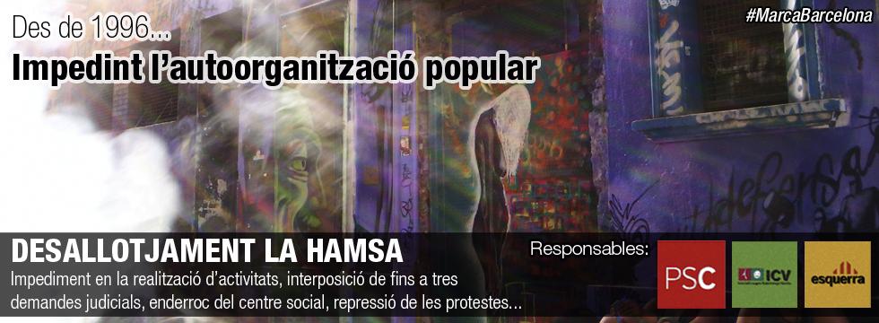 Desallotjament de La Hamsa